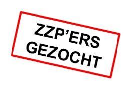 Wij zijn ook opzoek naar ZZP'ERS!